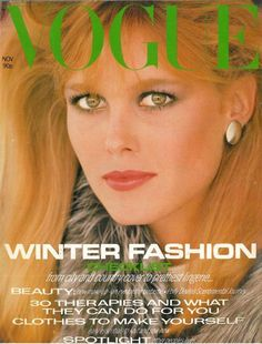 Nancy Donahue circa 1980s Vogue Eric Boman