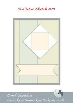 #Kreativwerkstatt Karin Müller #Stampin' Up! #card sketch 10