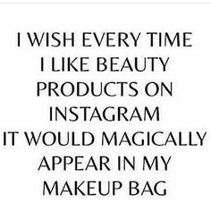 IF ONLY  @Regrann from @muse.sa -  Who can relate  #musebeauty #Regrann