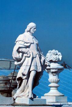 Las estatuas del Palacio Real. Foto: Antonio Bueno