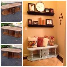 Project with Heidi! I like to call it Heidi-Go-Seek!  I found the table Heidi found the color! Luvd it!