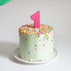 Banana Baby Birthday Smash Cake - Sugary & Buttery