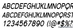 Florencesans sc cond bold italic Font