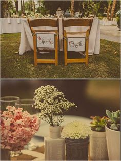 DIY Palm Springs Wedding