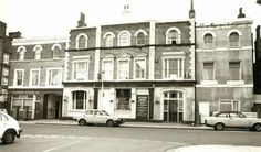 Heber Arms, Heber Road, East Dulwich c. 1986. East Dulwich changed its character very rapidly in the decade after 1870 from rural farmland to a Victorian lower-middle/upper-working class suburb. Shops for the new residents were largely to be found on Lordship Lane, but public houses were closer to hand and the prominent Heber Arms is typical.