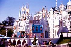 The original It's a Small World, 1964 World's Fair in New York.  My sister and I rode on it, a lot!