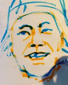 いいね!14件、コメント2件 ― torao fujimotoさん(@1mindraw)のInstagramアカウント: 「#chikutoshiaki #知久寿焼 #musician #ミュージシャン #たま #いかすバンド天国 #19650210 #birthday #誕生日 #1mindraw #一分描画…」