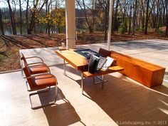 The+Edith+Farnsworth+House+by+Ludwig+Mies+van+der+Rohe+~+Plano,+Illinois