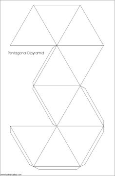 how to make a pentagonal prism out of paper