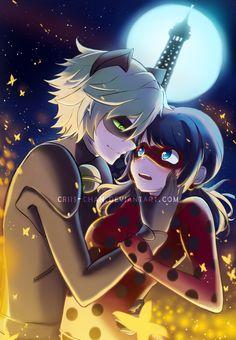 Chat Noir x Ladybug by criis-chan.deviantart.com on @DeviantArt