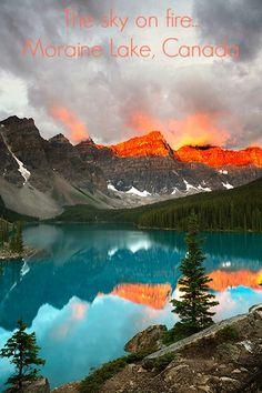 Wenkchemna Peaks, Banff National Park, Alberta, Canada   Hans Couwenbergh Photography
