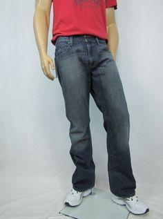 Details about Levi's jeans men's 505 regular fit straight leg size ...