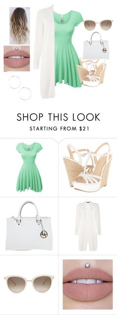 """""""Picnic Date"""" by theofficialfashionista on Polyvore featuring LE3NO, Jessica Simpson, Michael Kors, Dorothy Perkins and Chopard"""