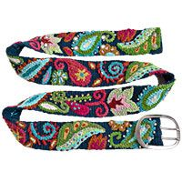 Peruvian Paisley Belt at The Animal Rescue Site