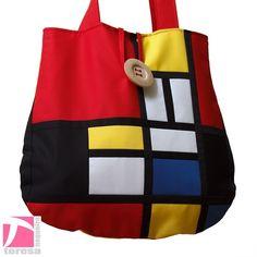 Mondrian bag