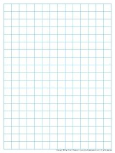 Graph Paper: Full Page Grid - half inch squares - 14x19 boxes - no ...