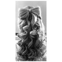 Hair Bow Inspiration found on Polyvore