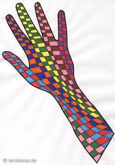 Hände für das Klassenzimmer