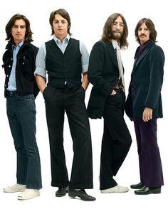 George Harrison, Paul McCartney, John Lennon, and Richard Starkey (1969)