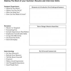 CAREER CENTERMaking The Most of your Summer: Resume and Interview Skills • What Do You Want?Summer Experience • Where Can You Get It? Elements of a Producti. http://slidehot.com/resources/resume-interview.36494/