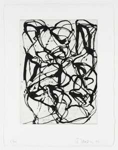 Cold Mountain Series, Zen Study 6 - Brice Marden - WikiPaintings.org