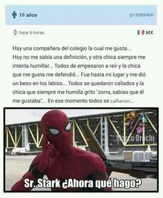 Funny Spanish Memes, Spanish Humor, Funny Jokes, Pinterest Memes, Avengers Memes, Book Memes, Big Bang Theory, I Laughed, Story Time