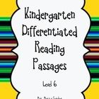 These DIFFERENTIATED passages are part of a set that were designed to supplement the Journeys reading series, however they can be used in any kinde...