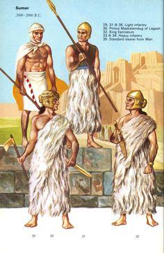 Sumer, 2600-2000 B.C.