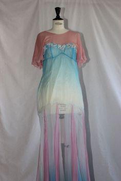 """Modèle """"Ondine"""", par J. Arnaudy, classe de FCIL modélisme lingerie -homewear"""