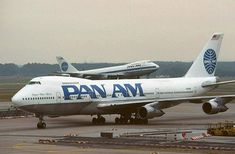 flying on Pan Am...