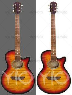 Steel guitar by yio Steel strings acoustic guitar. Isolated Objects Textures
