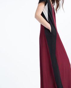 COLOUR BLOCK DRESS from Zara