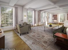 NYC's downtown Manhattan condo:http://www.dailymail.co.uk/news/article-2420435/Leslie-Alexander-billionaire-owner-Houston-Rockets-buys-New-Yorks-expensive-condo.html