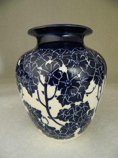 Wild Rose Vase by potter Ken Tracy