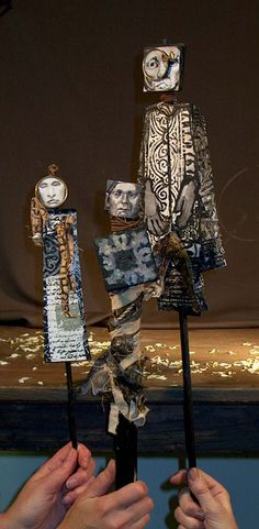 puppets by Anne Bagby