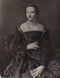 """Van Diemen-Lilienfeld Galleries , Angelo Bronzino. """"Eleonora of Toledo, wife of…"""
