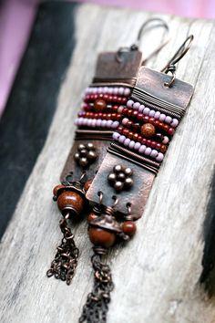 Rustic AlegriaAlegria earrings by Tribalis