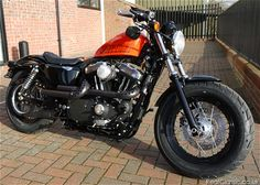 2012 Harley Forty-Eight Review | Harley Davidson Sportster Forty-Eight
