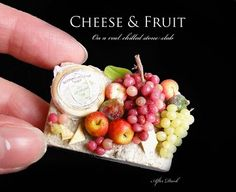 ♡ ♡ 2010. Cheese & Fruit By After Dark Miniatures