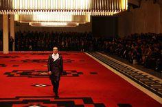 OMA-designed Prada catwalk Fall/Winter 2012