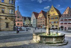 Rothenburg ob der Tauber -Detailansicht