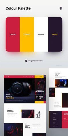 Flat Color Palette, Website Color Palette, Color Schemes Design, Color Schemes Colour Palettes, Graphic Design Lessons, Food Graphic Design, Typography Poster Design, Branding Design, Marketing Colors