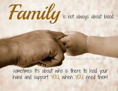 Widow's Voice: Friends vs. Family