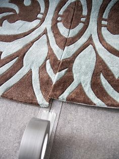 How to Make One Large Custom Area Rug from Several Small Ones : Decorating : Home & Garden Television