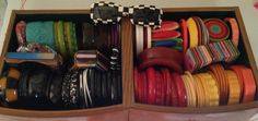 My collection of bakelite and a few lucite bracelets