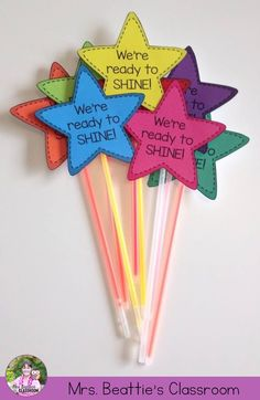 Build classroom community at the beginning of the year (or encourage your students during testing season!) with We're Ready To Shine! Motivational gift tags to celebrate and motivate from Mrs. Beattie's Classroom. They are a perfect welcome gift for Back to School!