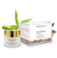 Luxe Oriental, crema antiedad, con ingredientes activos de calidad bio, incienso, mirra...