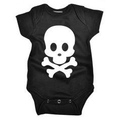 Body Bebê Divertido Caveira em malha Nuvem Baby & Kids. Moda bebê, Moda Infantil, Roupas de Bebê, roupas Infantis, Fashion Baby, Fashion Kids, bebê roupas, roupas de bebê. www.boobebe.com.br