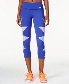 a157b898f3cd7b Nike Legendary Printed Capri Leggings & Reviews - Pants & Capris - Women -  Macy's