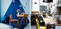 Oficinas pequeñas decoradas con encanto # Casi todo el mundo tiene hoy en día un espacio de trabajo en casa, y por eso tenemos que buscar el lugar adecuado. En ocasiones solo podemos aspirar a tener oficinas pequeñas dentro de casa, ... »